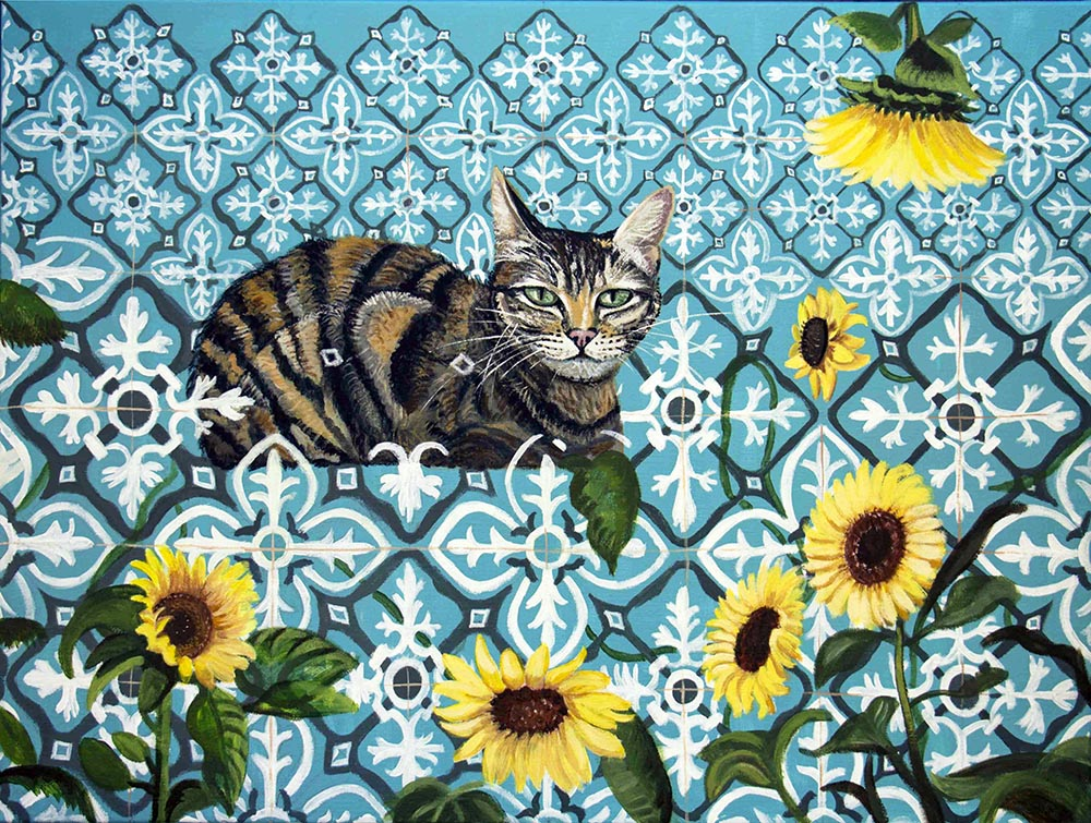 Fernanda Eva - gato da Bombarda 60x80 cm