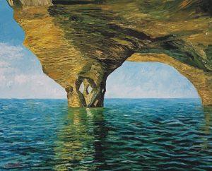 Sávio Floret. Algarve coast - Portugal - OST 65X81 cm - R$ 14.800,00