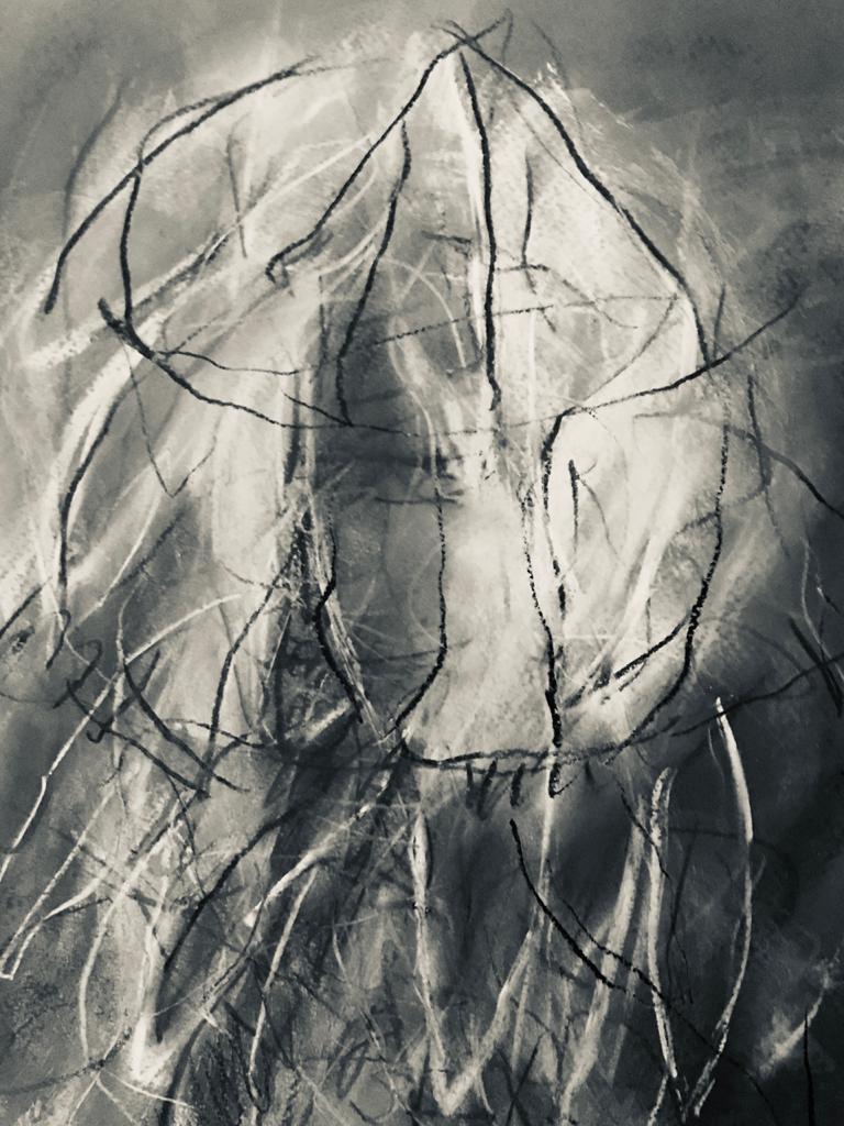 Lúcia Castanho. As luzes (I), 2019