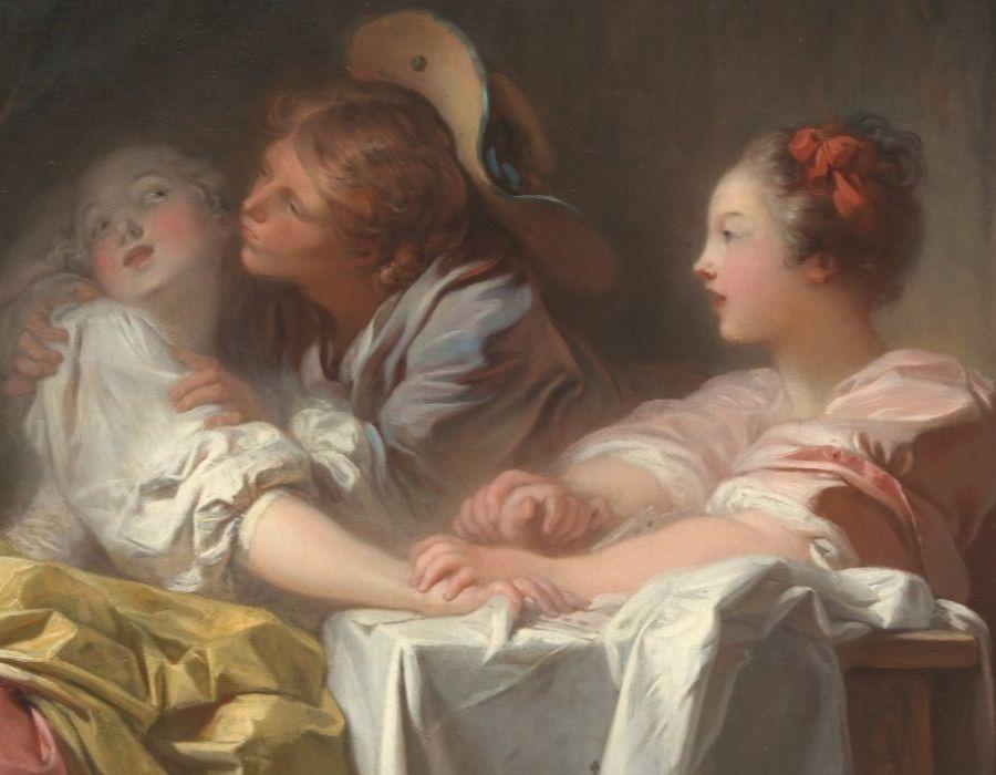 Fragonard e o Rococó Francês