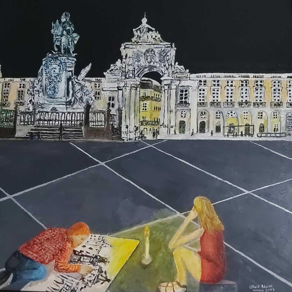 Olívio Ataíde. Lisboa a Inspiração do Artista, 2017