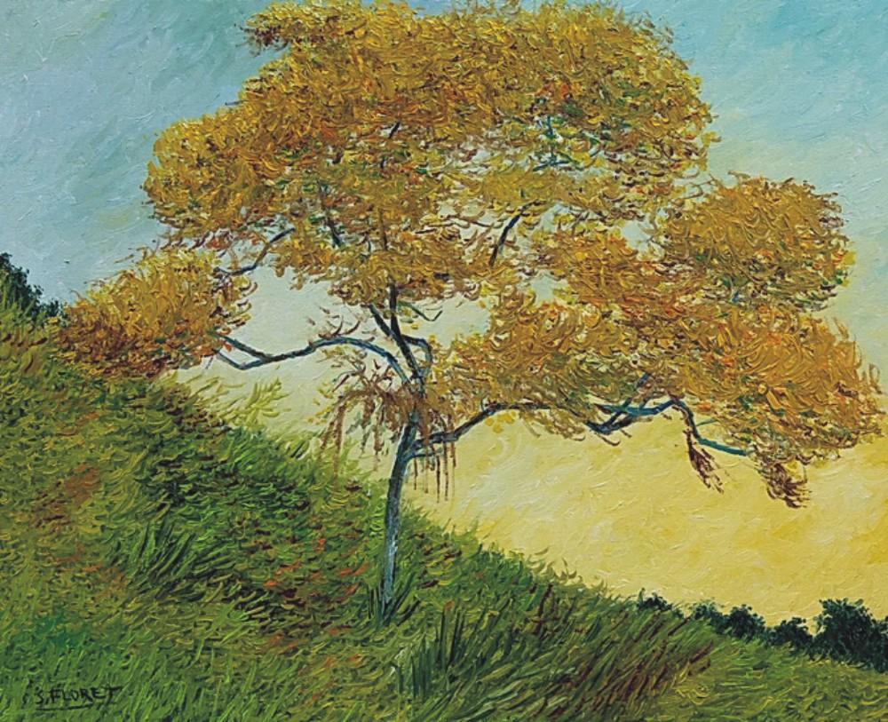 Sávio Floret. Simple Yellow - OST 54X65 cm - R$ 8.800,00