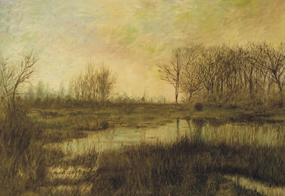 Sávio Floret. Floresta de Fontainebleau