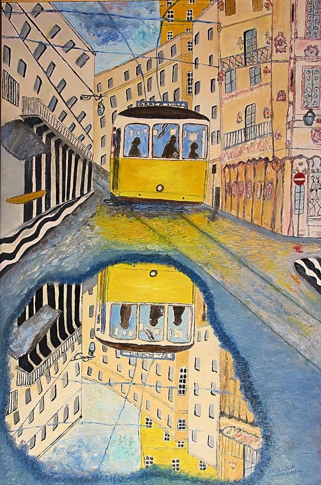 Olívio Ataíde. Espelho de Lisboa, 2017