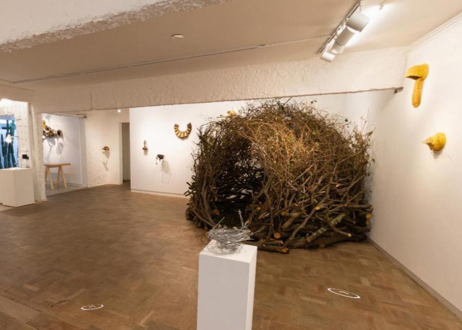 Sala de exposição virtual online