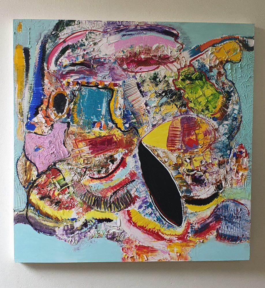 Homem Colorido - Luiz Carrijo
