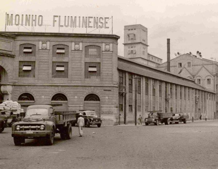 Moinho Flumense (Imagem: Acervo Centro de Memória Bunge)
