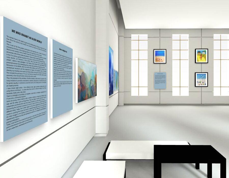 Online Viewing Room | Nós que Habitamos o Mundo Alheio (2021). Ligia Testa Espaço de Arte.