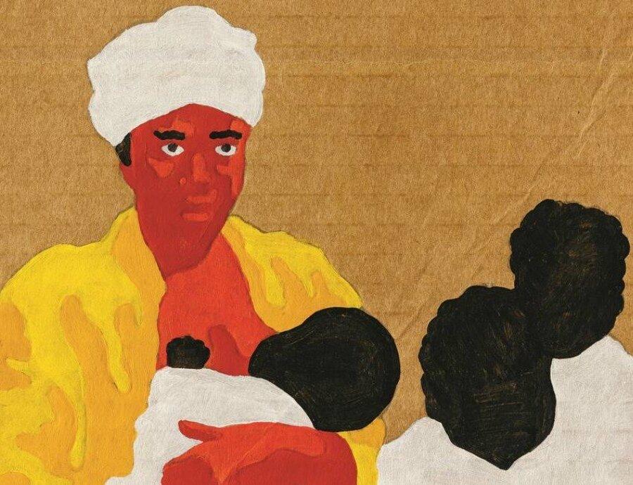DETALHE - Com seus cinco filhos, Rosa (1831-?) evadiu-se de uma fazenda no Rio Grande do Sul e tentou cruzar a fronteira do Uruguai para que seus descendentes fossem livres. Retrato de autoria do artista Mulambö Foto: Mulambö / Divulgação