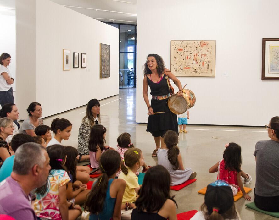 Oficina de música e movimento com Sandra Bitar | foto Karina Bacci