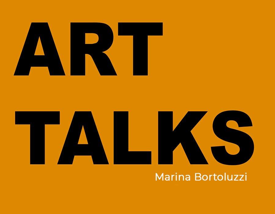 Marina Bortoluzzi; women on wall