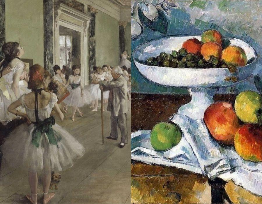Impressionismo e Pós Impressionismo