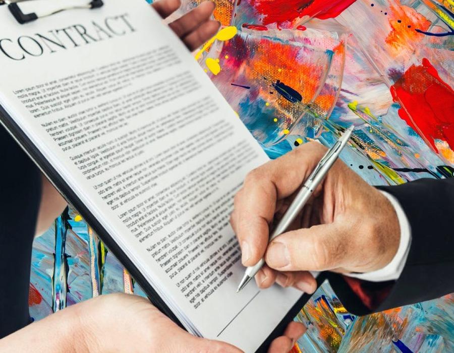 Aluguel de obra de arte