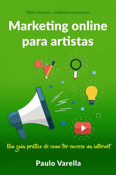 marketing online para artistas cover